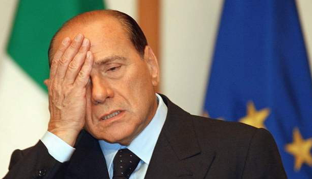 Berlusconi facepalm