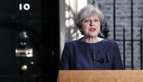 Theresa May elezioni